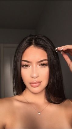 Tomorrow day sleepy natural look Inspiration for the best of women Tomorrow d Baddie Makeup Day Inspiration Natural sleepy tomorrow women Beauty Make-up, Beauty Hacks, Hair Beauty, Beauty Women, Natural Makeup Looks, Natural Looks, Natural School Makeup, Super Natural, Everyday Makeup For School
