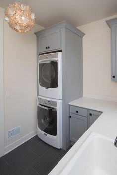 """Visit our web site for more relevant information on """"laundry room stackable washer and dryer"""". It is an excellent area to find out more. Small Laundry Room Organization, Built Ins, Home, Small Spaces, Closet Storage, Washer Dryer Laundry Room, Room Storage Diy, Laundry Dryer, Laundry"""
