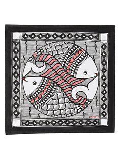 Fish Madhubani Painting x Watercolor Paintings Abstract, Sketch Painting, Painting Tips, Painting Art, Kalamkari Painting, Saree Painting, Indian Art Paintings, Oil Paintings, Madhubani Art