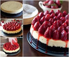 Strawberry Oreo Cheesecake