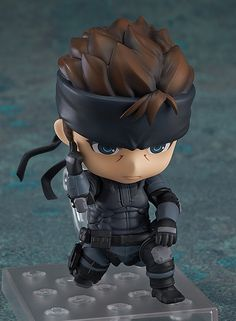 Nendoroid Solid Snake (ねんどろいど そりっど・すねーく) METAL GEAR SOLID ¥4,167 Release Date 2014/11