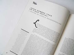 Mise en page / typographie
