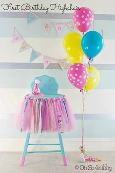 Great First Birthday Ideas for your Little Princess - Oh So Shabby