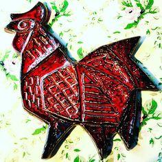Kåre Berven Fjeldsaa  #stavangerflint #rooster #konradgalaaen #stavanger #design #chamott #keramikk  #ceramics #midcenturydesign #artist #skandinaviskdesign  #art #artista #artesania #abstract #pottery #design #pottery #keramikk #painting #ceramics #birds #artist #figuras #kbf #hane #collection  #art #artista #artesania #sandnes #gallo #abstract #pottery #potterystudio #coq #hahn #pajaro