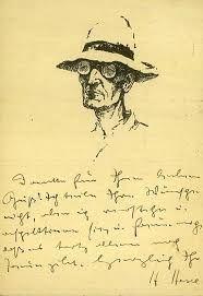 Hermann Hesse (1877-1962).
