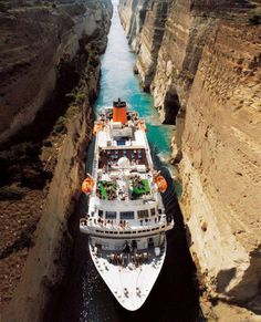 101 Most Beautiful Places You Must Visit Before You Die! – part 3 ~ Canal De Corinto, Greece ~ { much better driver than I'll ever be } World's Most Beautiful, Beautiful Places In The World, Beautiful Places To Visit, Places Around The World, Oh The Places You'll Go, Wonderful Places, Places To Travel, Amazing Places, Dream Vacations