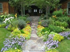 Vorgarten und Einfahrt gestalten - praktische Gartengestaltung Ideen