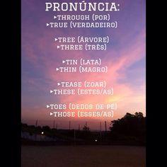 Usem o TH sempre pois faz muita diferença na pronúncia! #SayItRight #Inglês #DicasDeIngles #Gramática #Pronúncia #English #Gringo #Americano