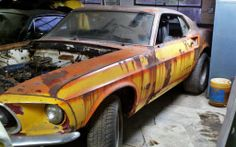 S-Code Project: 1969 Ford Mustang Mach 1 - http://barnfinds.com/s-code-project-1969-ford-mustang-mach-1/