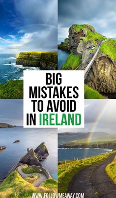 Big Mistakes To Avoid In Ireland | Big Mistakes To Avoid When Planning a trip to Ireland | how to visit Ireland | Ireland travel tips | what to know when visiting Ireland | Ireland itinerary tips | tips for traveling Ireland | cliffs of moher ireland #ireland #traveltips #irish