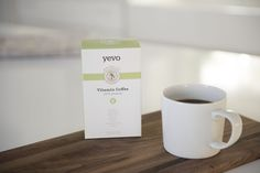 Whether it's accompanying breakfast or not, Yevo's Vitamin Coffee adds essential nutrients to a cup of Joe. #yevo yevo43.com