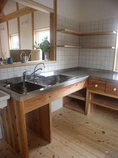 できることならキッチンはダブルシンクがいい♪【便利でオシャレ】 - NAVER まとめ Kitchen Interior, Staging, My Dream Home, Home Kitchens, Indoor, Naver, Room, Furniture, Home Decor