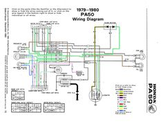 975d506f6cb6fc4816c24fefa40c9925 led lamp hobbit electrical schematics pa50 ii honda pa50 ii pinterest 49Cc Scooter Wiring Diagram at mifinder.co