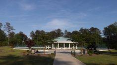 Vietnam Veterans Memorial At Lejeune Memorial Gardens In