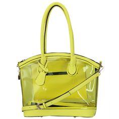 Condura - Transparency Handbag Yellow   Peter's of Kensington