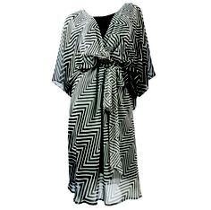 Avenue chevron kimono dress, $74
