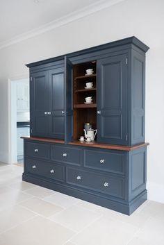 Kitchen Larder, Kitchen Dresser, Kitchen Paint, Kitchen Storage, Kitchen Dining, Tall Cabinet Storage, Kitchen Decor, Kitchen Appliances, Larder Cupboard