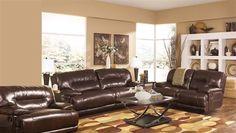 Exhilaration - Chocolate Living Room Set