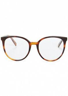 fcdc7782ec Céline Tortoiseshell Optical Glasses Eyeglasses For Round Face
