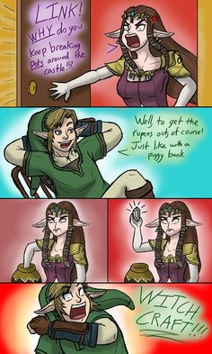 What Sorcery is This!? #LegendofZelda