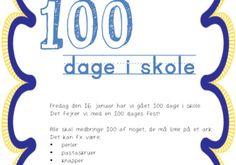 100 dage invitation