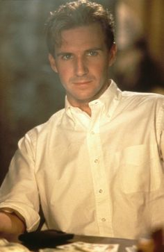 Ralph Fiennes in Quiz Show (1994).  His zenith of gorgeousness.