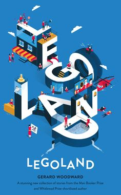 Legoland by Gerard Woodward; design by Justine Anweiler; illustration by Axel Bi… Sponsored Sponsored Legoland by Gerard Woodward; design by Justine Anweiler; illustration by Axel Bizon and Lena Sarrault (Picador / February Graphic Design Trends, Graphic Design Posters, Graphic Design Inspiration, Bts Design Graphique, Illustration Design Graphique, Buch Design, Design Art, Web Design, Isometric Art