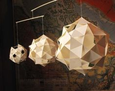 Geometric Mobile by CelestialVisions on Etsy