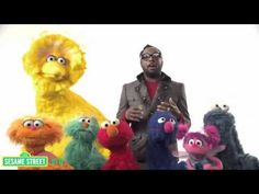 Sesame Street and Will.i.am with a great song about all of the lovely non-appearance-based adjectives that one can be!