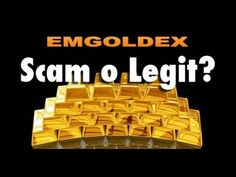 Is Global Intergold a scam or legit investment? Online Gold Shopping, Earn Money, Investing, Youtube, Make Money, Youtube Movies