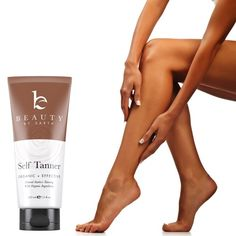 Amazing organic self-tanner! Smells like chocolate and coconut!!!!!  Beauty by earth self tanner