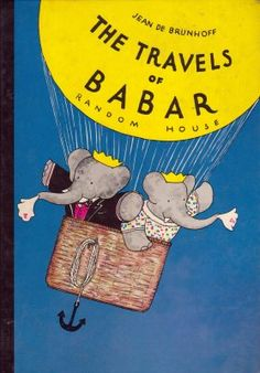 Babar the Elephant! I loved all these books as a kid.