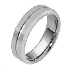 Men's Platinum Wedding Ring