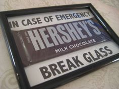 Emergency Chocolate Christmas Gift Gift for Teacher by Kbettega, $5.00