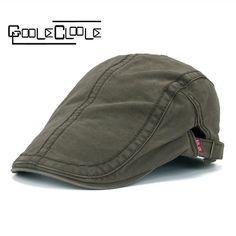 New Plain Cotton Berets Caps For Men outdoor Casual Peaked Caps Solid Color cap  Berets Hats Snapback Camping hats Casquette Cap