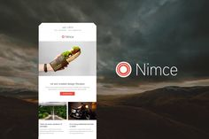 Nimce - Responsive Email Template by williamdavidoff on Envato Elements Envato Elements, Responsive Email, Email Templates, App, Ui Kit, Website Template, Web Design, Free, Templates