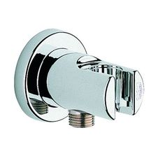 Grohe Wall Union with Holder Finish: Chrome
