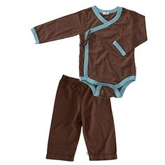 0-3 Months Chocolate Baby Soy Slip On Pants