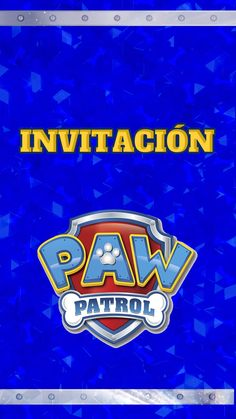 Paw Patrol Chase Wallpaper in 2020 (With images) Frozen Birthday Party, Mickey Mouse Birthday, Boy Birthday Parties, Paw Patrol Birthday Decorations, Paw Patrol Birthday Cake, Zuma Paw Patrol, Rubble Paw Patrol, Paw Patrol Invitations, Birthday Invitations