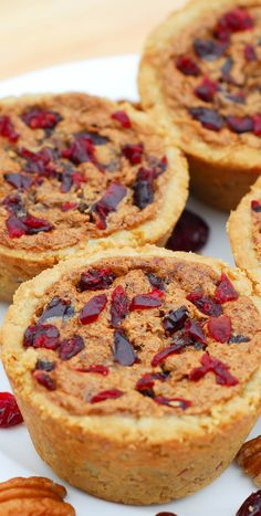 Cranberry Pecan Muffin Cups