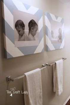 DIY Bathroom Decor Ideas - Tub Time Photos and DIY Canvas Prints - Cool Do It Yourself Bath Ideas on A Budget, Rustic Bathroom Fixtures, Creative Wall Art, Rugs, Mason Jar Accessories and Easy Projects http://diyjoy.com/diy-bathroom-decor-ideas