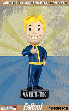 AmiAmi [Character & Hobby Shop]   Fallout 4 - Vault-boy 111 Charisma Mega Bobble Head(Provisional Pre-order)