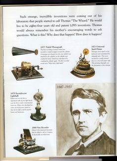 Literature Guide for Young Thomas Edison | What is this, My mom ...