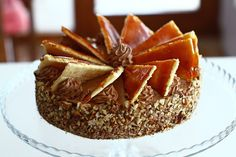 dobos-torta-reteta-tort-dobos-reteta-dobos-retetecalamamaro Facebook Recipe, Romanian Food, Romanian Recipes, Sweet Treats, Cheesecake, Pudding, Sweets, Cooking, Desserts