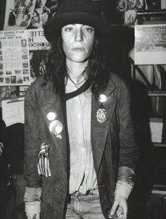 Patti Smith at Max's Kansas City by Kate Simon, 1979