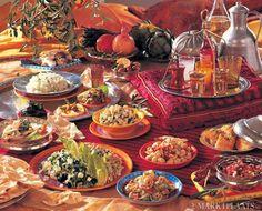 heerlijke smaken van marokko