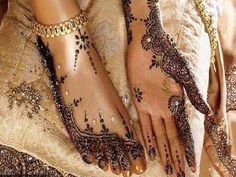 Henna party for the bridesmaids?