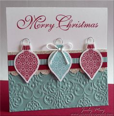 Stampin Up: Ornament Keepsakes, Greetings of the Season, Delightful Decorations, Delightful Dozen - bjl