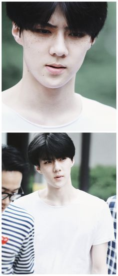 my and sehun can be freckle buddies :)