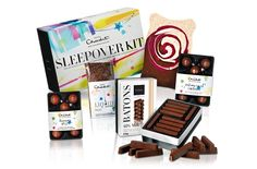 Sleepovers are better with chocolate.